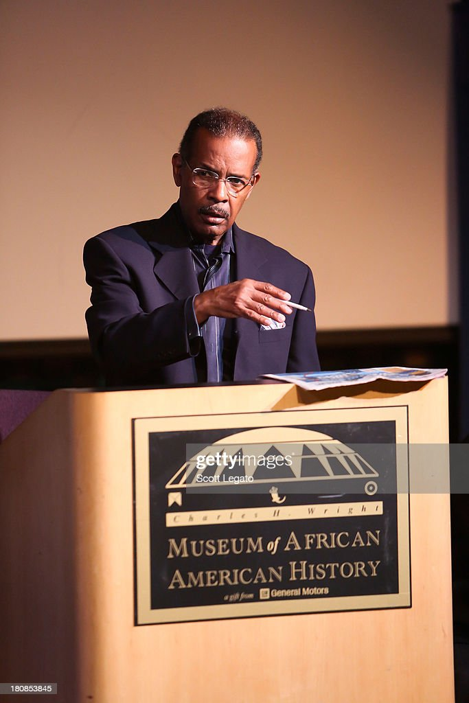 SiriusXM moderator Joe Madison speaks at Charles H. Wright Museum of African American History on September 16, 2013 in Detroit, Michigan.