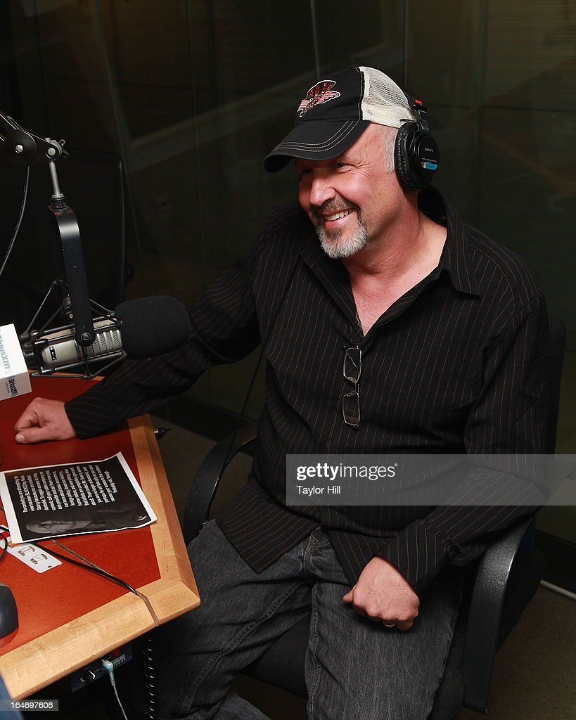 "SiriusXM Patriot host David Webb interviews ""Justified"" actor <a gi-track='captionPersonalityLinkClicked' href=/galleries/search?phrase=Nick+Searcy&family=editorial&specificpeople=2162500 ng-click='$event.stopPropagation()'>Nick Searcy</a> on ""The David Webb Show"" at SiriusXM Studios on March 26, 2013 in New York City."