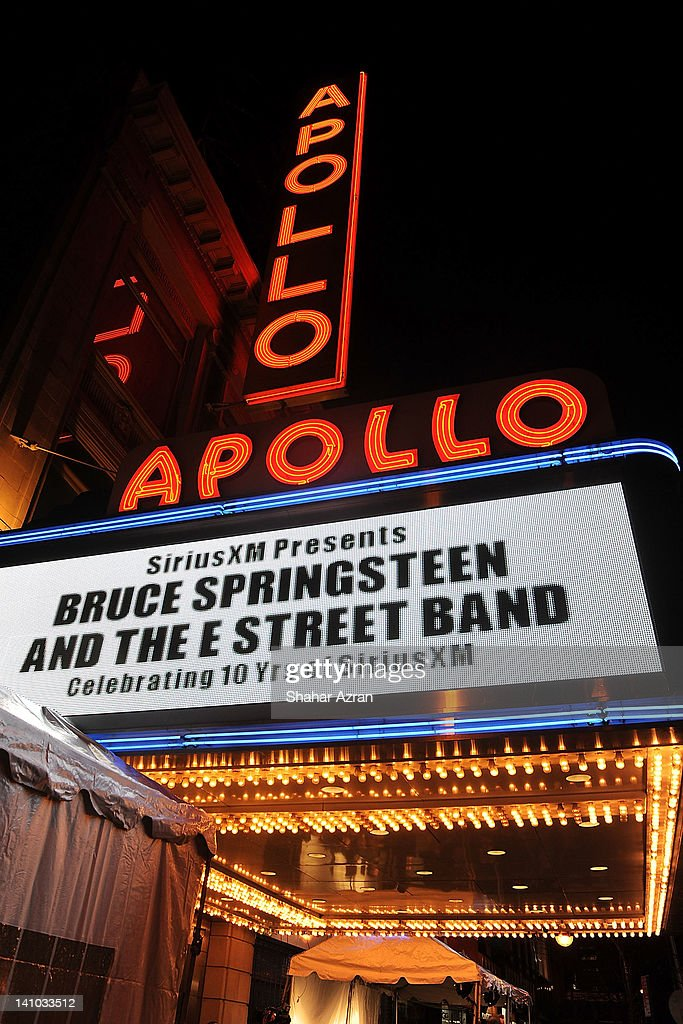 SiriusXM's concert celebrating 10 years of satellite radio at The Apollo Theater on March 9 2012 in New York City