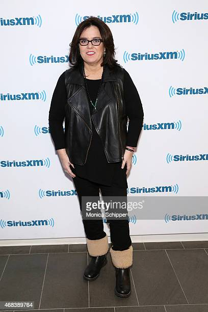 SiriusXM's 'It's Not Over' Town Hall Rosie O'Donnell interviews author Michelangelo Signorile at SiriusXM Studio on April 2 2015 in New York City