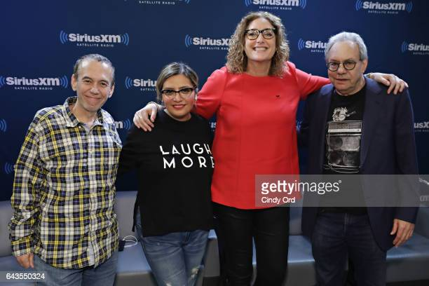 SiriusXM's John Fugelsang hosts 'Donald Trump's First 30 Days' with special guests Gilbert Gottfried Cristela Alonzo Judy Gold and Lewis Black at...