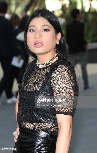 Sirivannavari Nariratana attends the Chanel Haute Couture Fall/Winter 20172018 show as part of Haute Couture Paris Fashion Week on July 4 2017 in...