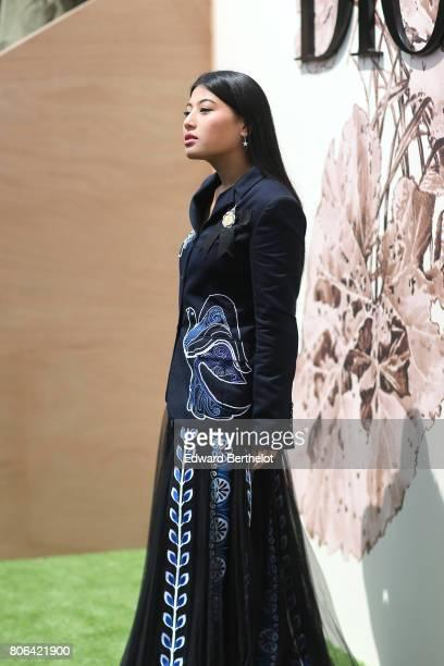Sirivannavari Nariratana attends the Christian Dior Haute Couture Fall/Winter 20172018 show as part of Haute Couture Paris Fashion Week on July 3...