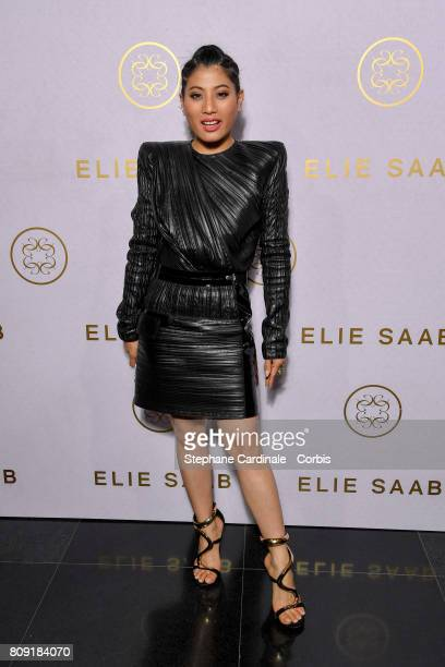 Sirivannavari Nariratana attends the Elie Saab Haute Couture Fall/Winter 20172018 show as part of Haute Couture Paris Fashion Week on July 5 2017 in...