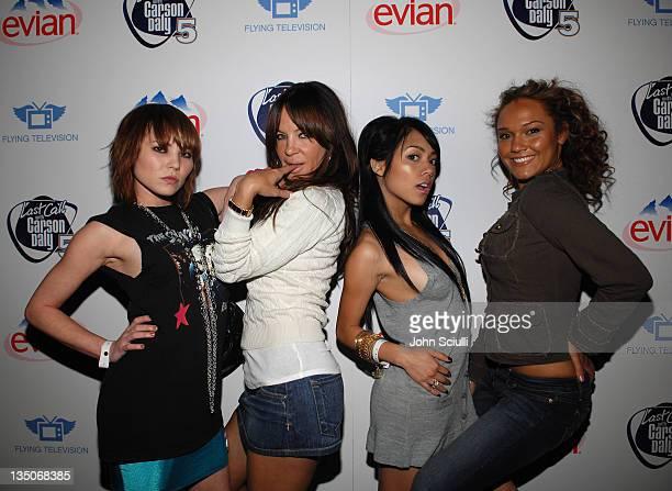 Sisely Treasure Robin Antin Melissa Reyes and Anastacia Mcpherson