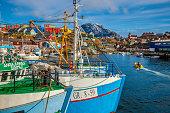 Sisimiut Harbour in Greenland