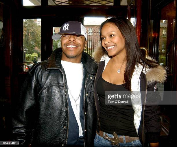 Sisqo and Samantha Mumba during Childline Charity Breakfast at Berkerley Court Hotel in Dublin Ireland