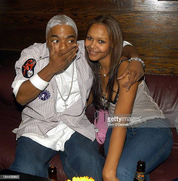 Sisqo and Samantha Mumba during Sisqo and Samantha Mumba Sighting Dublin at Lillies Bordello's in Dublin Ireland
