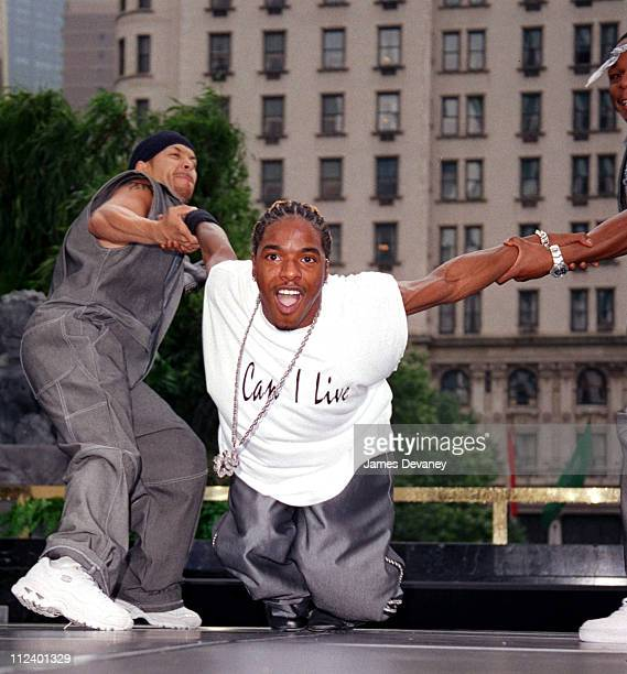 Sisqo during Sisqo Performs on the CBS's 'The Early Show' June 21 2001 at CBS Studios in New York City New York United States