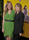 Sissy Spacek and daughter Schuyler Fisk arrive at 'The Help' World Premiere at the Samuel Goldwyn Theater on August 9 2011 in Beverly Hills California