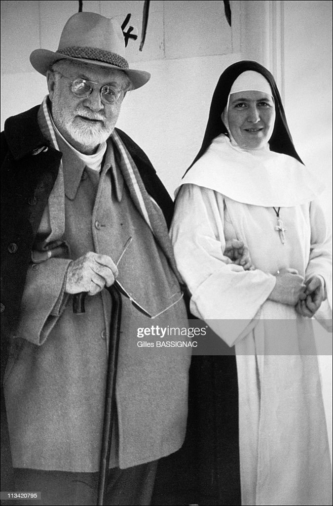 Sister Jacques-Marie, H - Matisse Model In Helio-Marine Institute Bidart On October, 1992 -