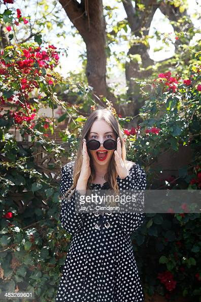 Sister of the band Haim Este Haim is photographed for Los Angeles Times on March 27 2014 in Studio City California PUBLISHED IMAGE CREDIT MUST READ...