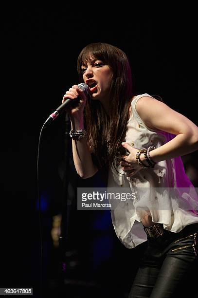 Sister Sparrow and The Dirty Birds perform in concert at House of Blues on January 18 2014 in Boston Massachusetts