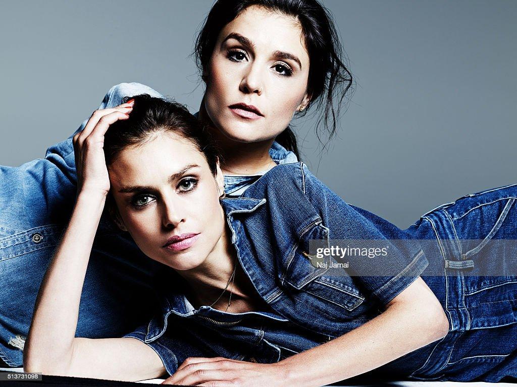 Hannah Ware and Jessie Ware, Glamour UK, November 1, 2015