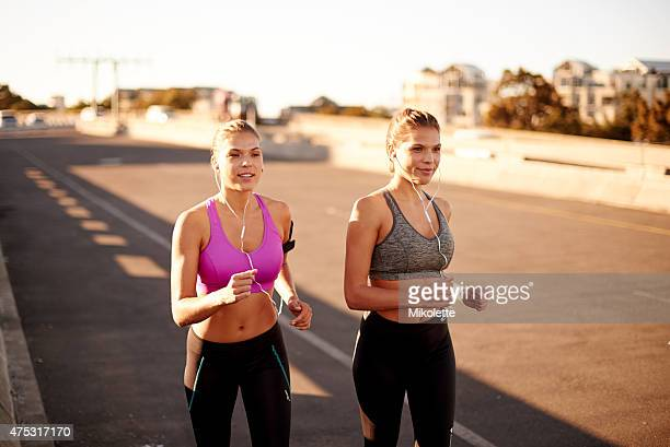 Sisters make the best friends… and exercise buddies
