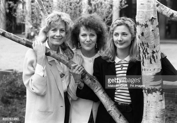 Sisters Vanessa left and Lynn Redgrave with Vanessa's daughter Joely Richardson right who are to star in a forthcoming West End production of...