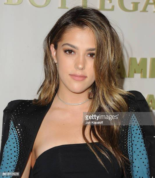 Sistine Stallone arrives at the Hammer Museum Gala In The Garden at Hammer Museum on October 14 2017 in Westwood California