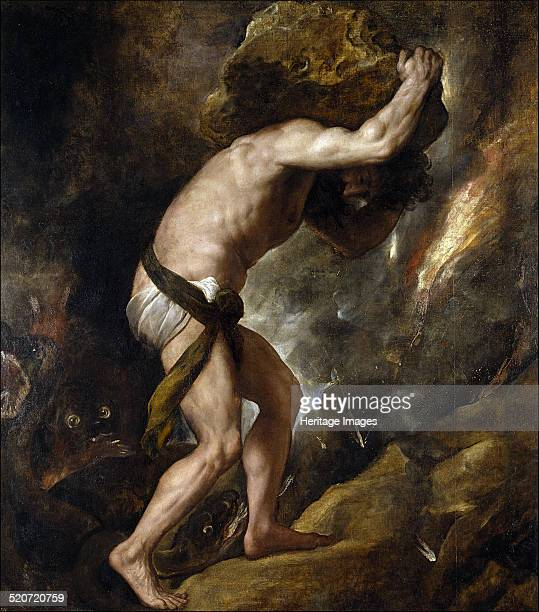 Sisyphus Found in the collection of Museo del Prado Madrid