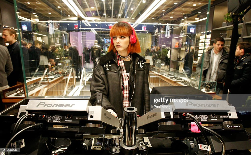 DJ Sita Abellan attends the after party celebrating DIESEL's Madison Avenue flagship on February 13, 2016 in New York City.