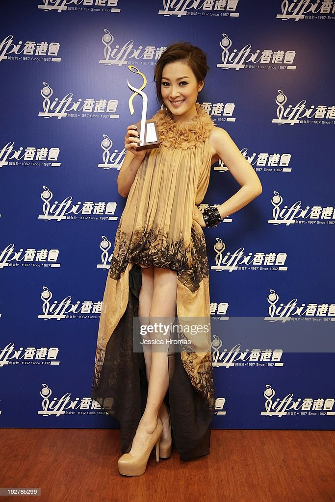 Sita Chan at the 2013 IFPI Hong Kong Top Sales Music Awards at Star Hall on February 26, 2013 in Hong Kong, Hong Kong.