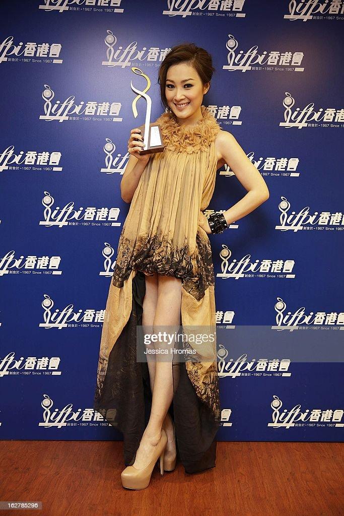 Sita Chan at the 2013 IFPI Hong Kong Top Sales Music Awards at Star Hall on February 26, 2013 in Hong Kong, Hong Kong.