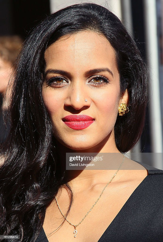 Sitar player Anoushka Shankar attends The Recording Academy Special Merit Awards Ceremony at the Wilshire Ebell Theatre on February 9, 2013 in Los Angeles, California.