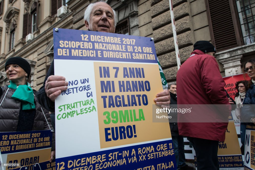Medical strike in Rome