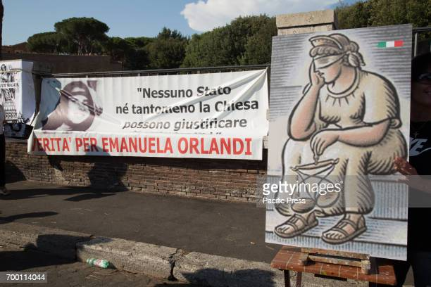 Sitin to remember Emanuela Orlandi mysteriously disappeared on June 22 1983 in Rome