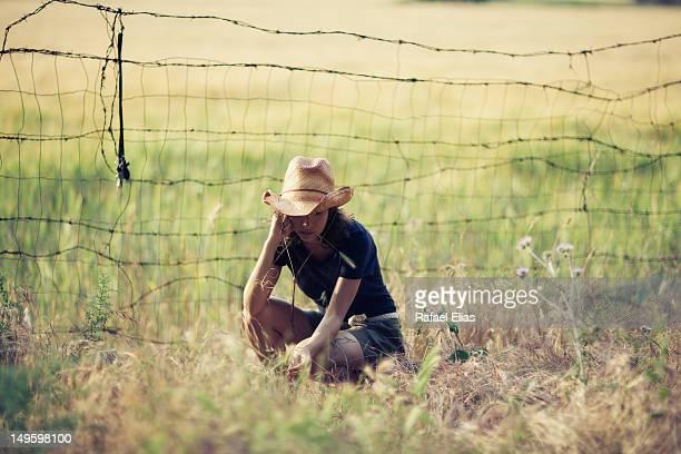 Sitting cowgirl