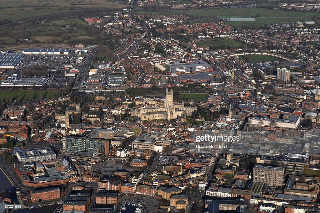 Situated on the River Severn is the south west city of Gloucester on 20th January 2009