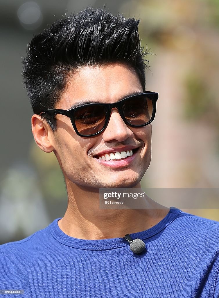 <a gi-track='captionPersonalityLinkClicked' href=/galleries/search?phrase=Siva+Kaneswaran&family=editorial&specificpeople=7039810 ng-click='$event.stopPropagation()'>Siva Kaneswaran</a> of The Wanted is seen on May 9, 2013 in Los Angeles, California.
