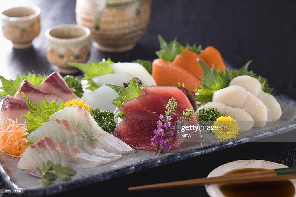 Six Assorted Sashimi