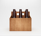 Beer - Alcohol, Box - Container, Bottle, Beer Bottle, Drink, Wooden