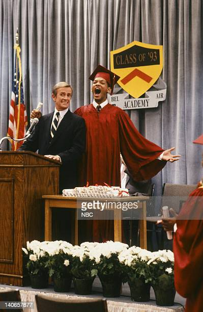 AIR 'Six Degrees of Graduation' Episode 24 Pictured William Cort as Headmaster Wallace Thorvald Will Smith as William 'Will' Smith  Photo by Danny...