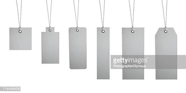 Six different tag labels XXXL+
