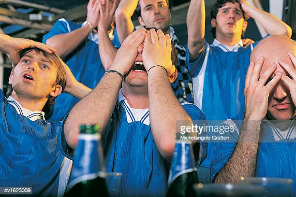 Six Football Supporters in Disbelief