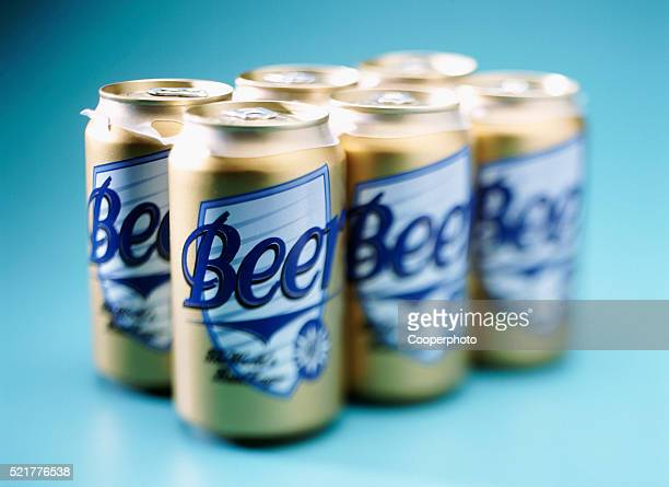A six pack of beer