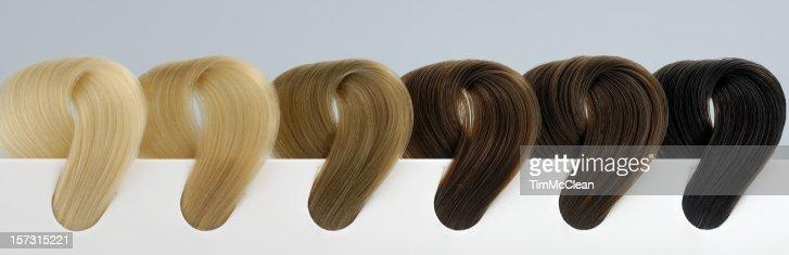 6 色の髪