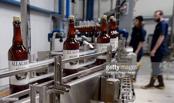 Sixteen Counties on the production line at Allagash Thursday April 14 2016