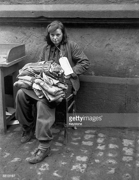 A sixteenyearold German girl who was captured on the front line She was a cook for the Hitler Youth and worked at their camp