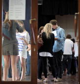 Sixth Form students open their Alevel results at Hayesfield Girls' School on August 19 2010 in Bath England Thousands of students are anxiously...