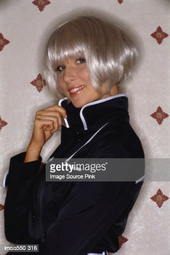 Sixties fashion model : Stock-Foto