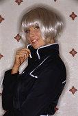 Sixties fashion model