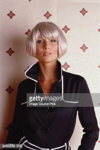 Sixties fashion model : Stock Photo