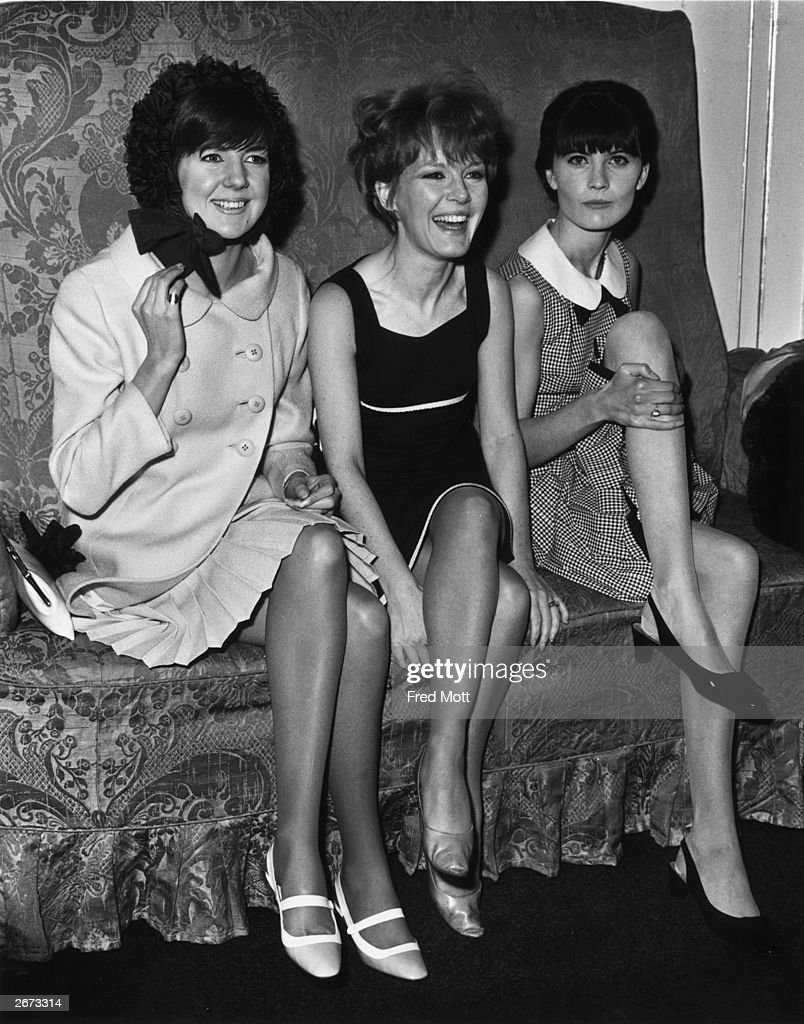 Sixties personalities, from left to right, Cilla Black, Petula Clark and Sandie Shaw, at the Dorchester Hotel, London, for a Variety Club luncheon.