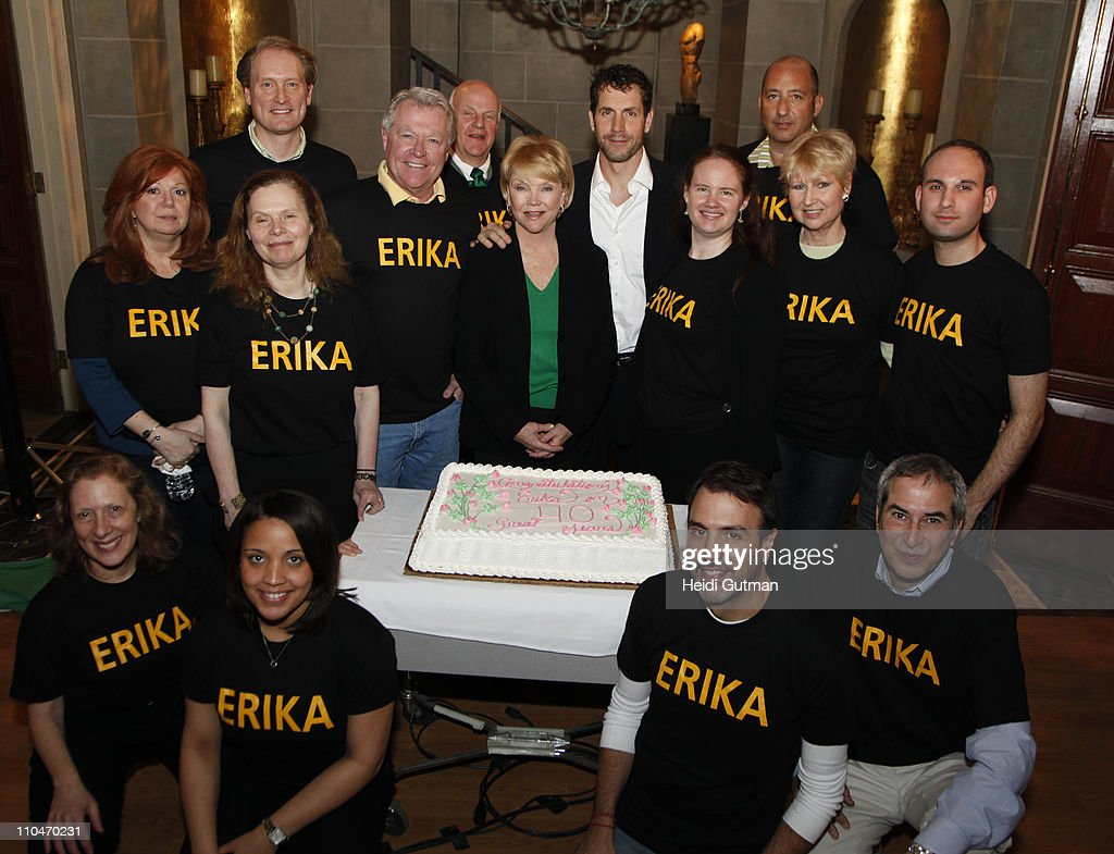 LIVE - Six-time Emmy-winner Erika Slezak from ABC's 'One Life to Live' is surprised by the cast and crew with a celebration to mark her 40th anniversary playing Victoria Lord. Ms. Slezak first appeared on 'One Life to Live' on March 17, 1971. 'One Life to Live' airs Monday-Friday (2:00 p.m. - 3:00 p.m., ET) on the ABC Television Network. OLTL11(Photo by Heidi Gutman/ABC via Getty Images)ERIKA