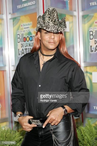 Sixto Nolasco during 2005 Billboard Latin Music Awards Arrivals at Miami Arena in Miami Florida United States