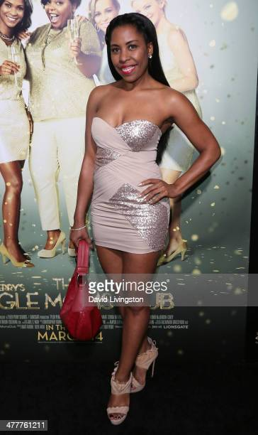 Sixx Carter attends the premiere of Tyler Perry's 'The Single Moms Club' at the ArcLight Cinemas Cinerama Dome on March 10 2014 in Hollywood...