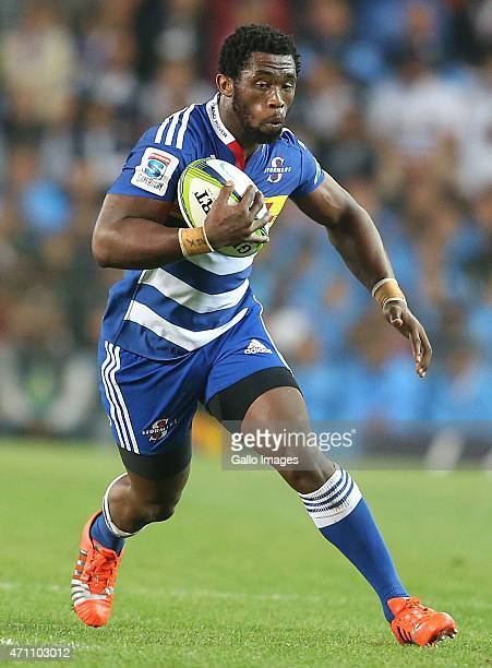 Siya Kolisi of the Stormers during the Super Rugby match between DHL Stormers and Vodacom Bulls at DHL Newlands Stadium on April 25 2015 in Cape Town...
