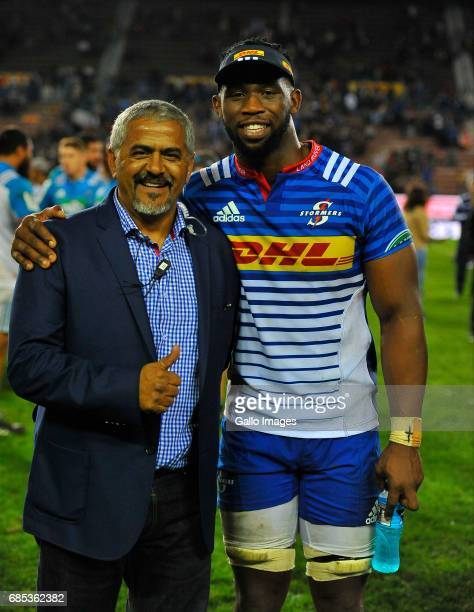 Siya Kolisi of the Stormers the Super Rugby match between DHL Stormers and Blues at DHL Newlands on May 19 2017 in Cape Town South Africa